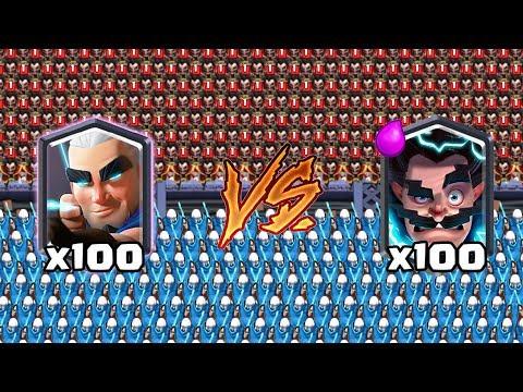 magic archer vs electro wizard clash royale super challenge 23