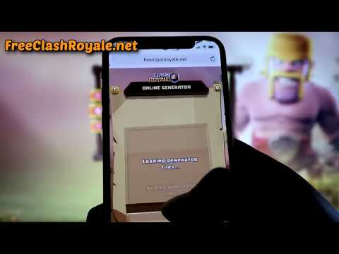 How To Get FREE Clash Royale GEMS and COINS 2018 FREE CLASH