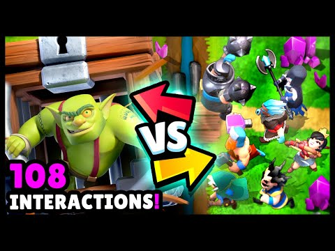 Goblin Cage Vs All Cards Gameplay 108 Interactions Clash